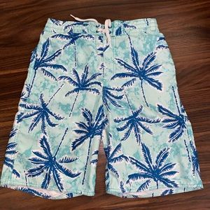 Boys old navy swim trunks
